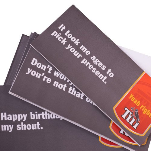yeah right cards 10 pk the changing room. Black Bedroom Furniture Sets. Home Design Ideas